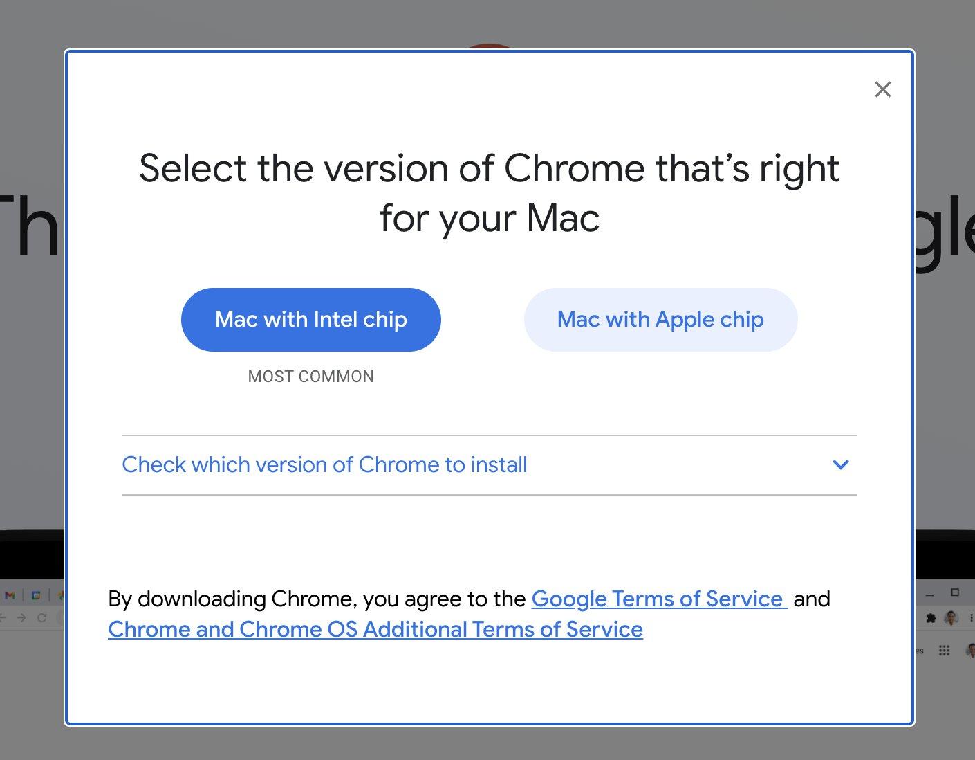 Google Chrome Mac Silicon