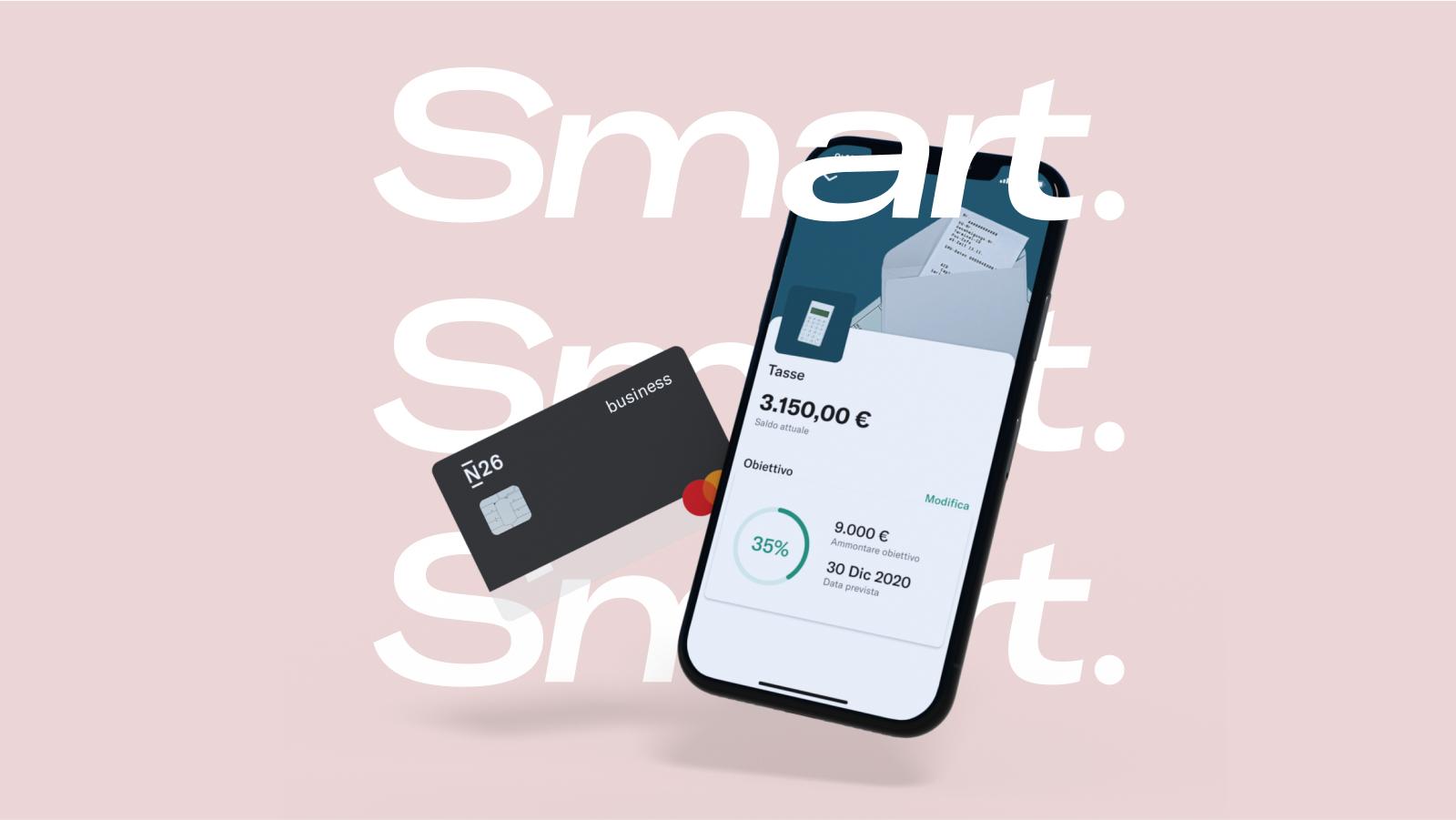 Ufficiale N26 Smart: c'è un'opzione in più per privati e imprese 2