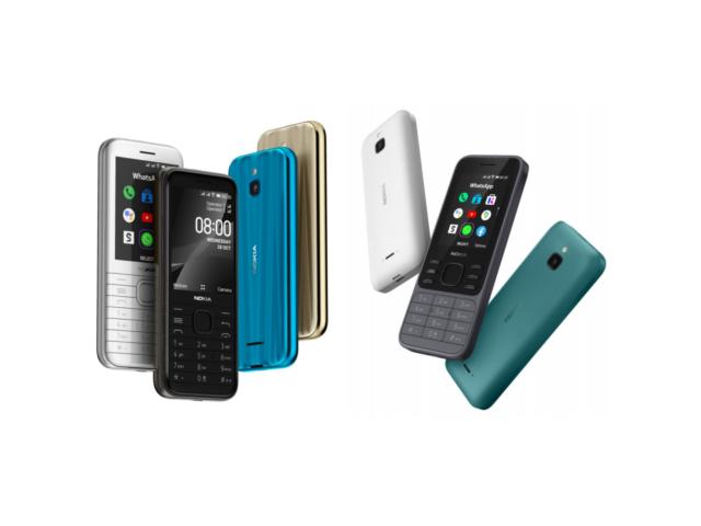 Nokia 8000 e Nokia 6300