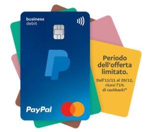 PayPal carta di debito Mastercard