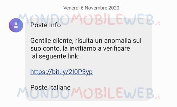 truffa no poste italiane