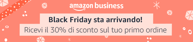 amazon business sconto 23 novembre