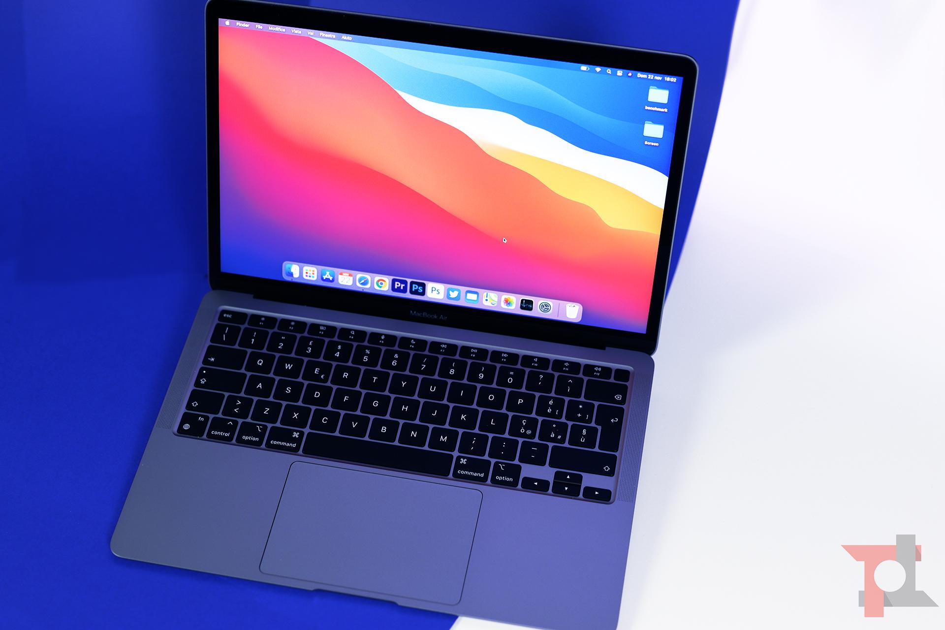 apple macbook air m1 prestazioni