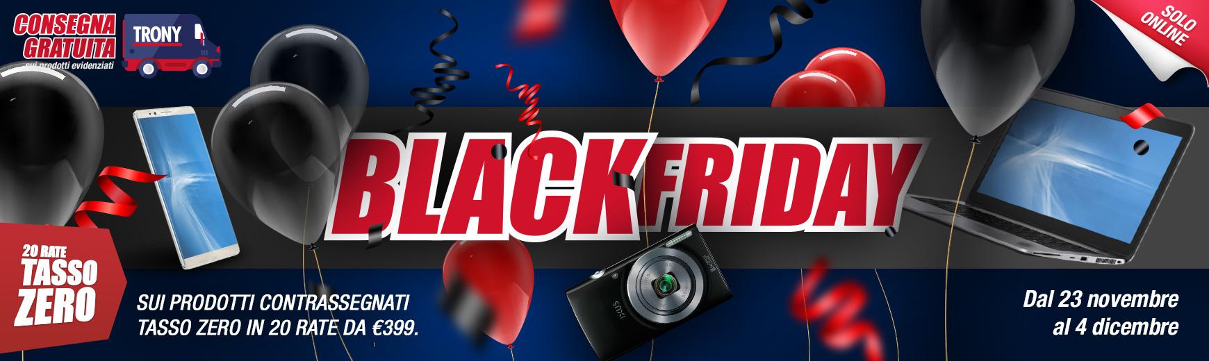 Continuano le offerte Trony per il Black Friday 1