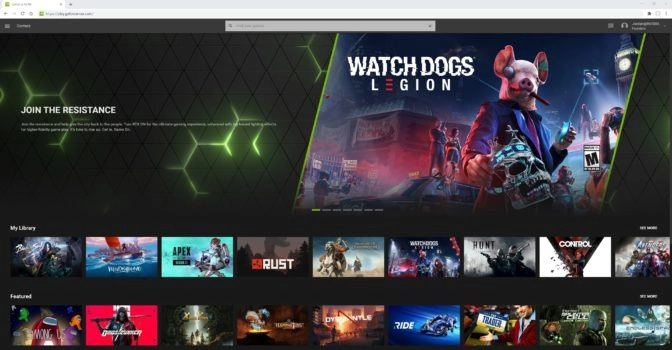 geforce now ios beta google chrome supporto