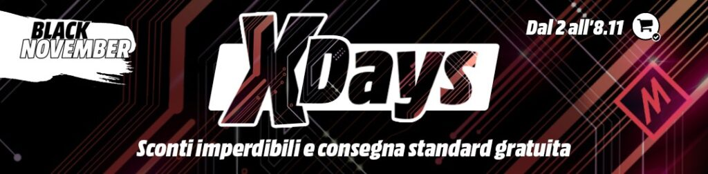 mediaworld xdays 2 8 novembre 2020