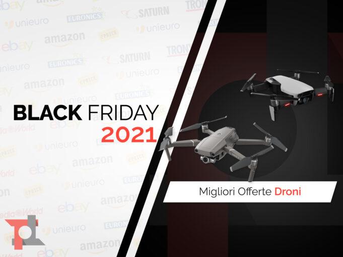 offerte black friday 2021 droni