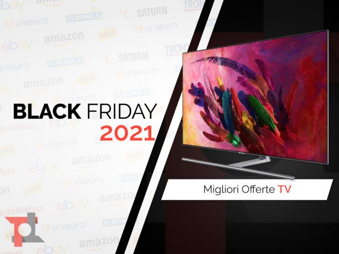 offerte black friday 2021 tv