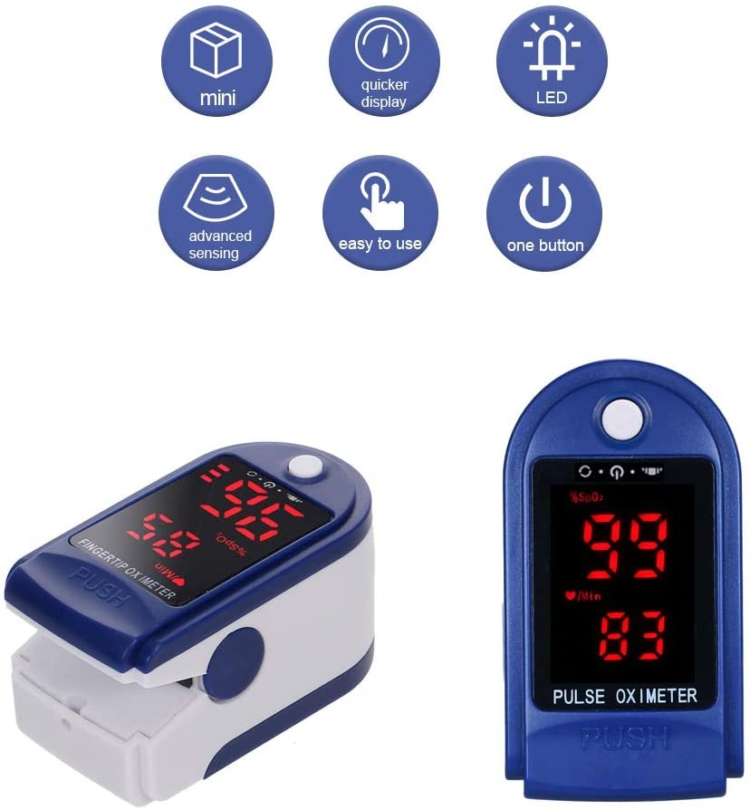 Saturimetro e termometro a infrarossi a 12 euro in questa imperdibile offerta 1