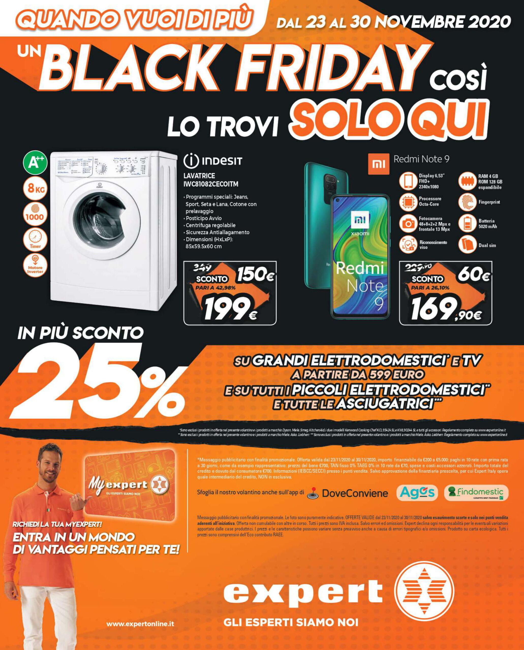 Ecco le migliori offerte del Black Friday di Expert (23 - 30 novembre) 1