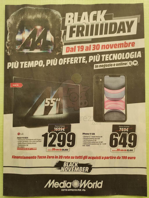 "Offerte ""Black Friiiiiday"" di MediaWorld"