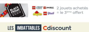 LEGO in 3x2 su Cdiscount per il Black Friday