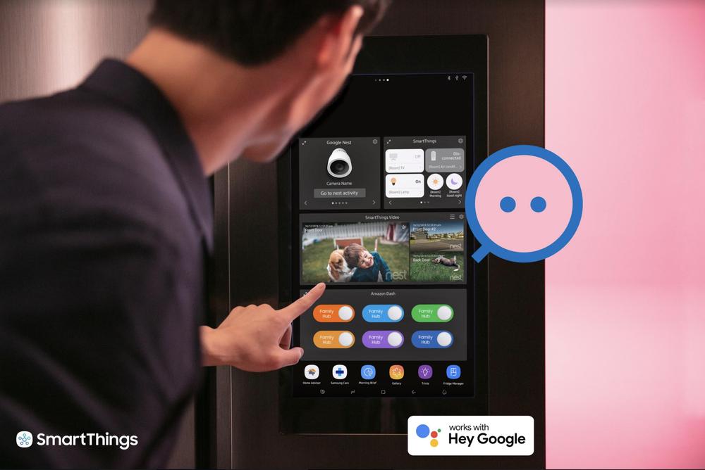 La smart home diventa più intelligente con Google, Samsung e SmartThings 1