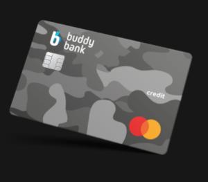 buddybank carta credito