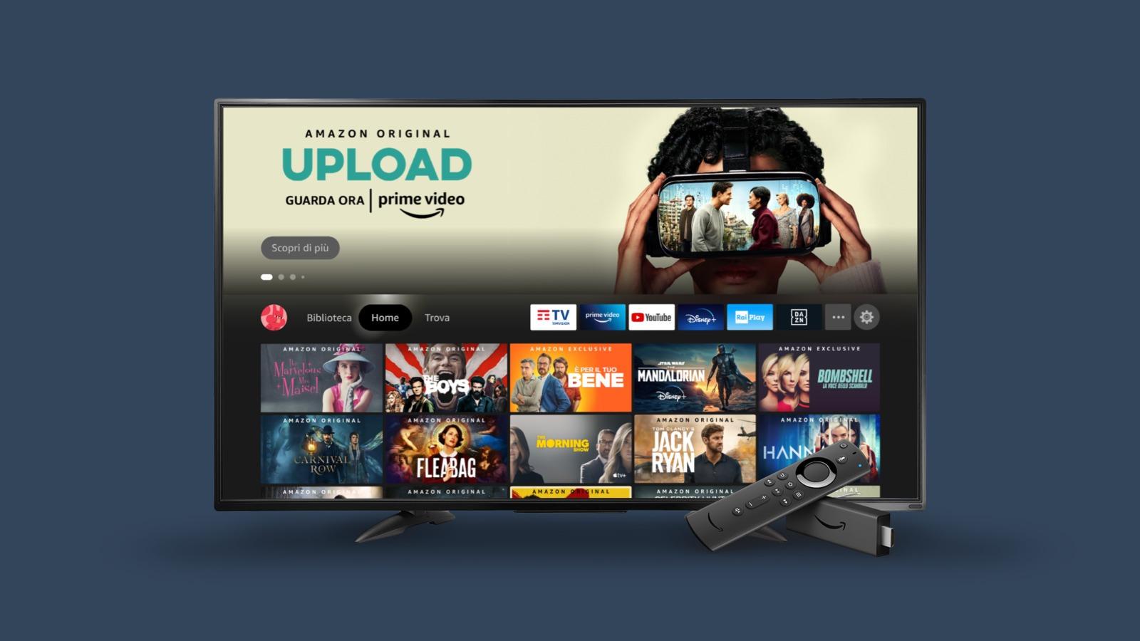 Amazon porta in Italia la nuova interfaccia per Fire TV 1