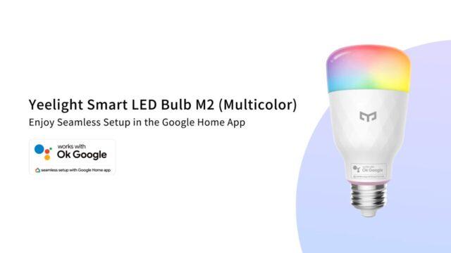 xiaomi yeelight smart led bulb m2