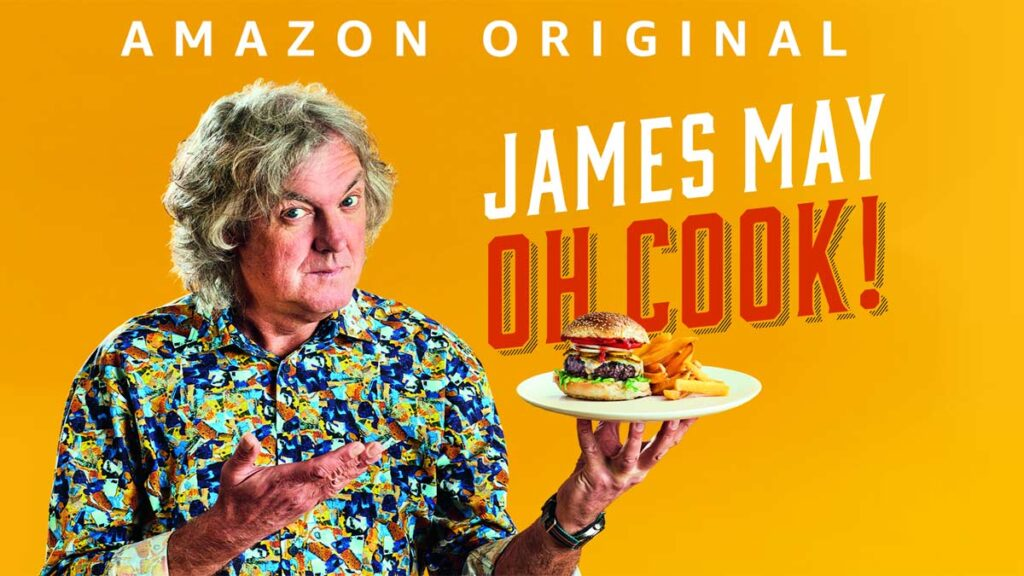 James May: Oh Cook! - novità Amazon Prime Video gennaio 2021