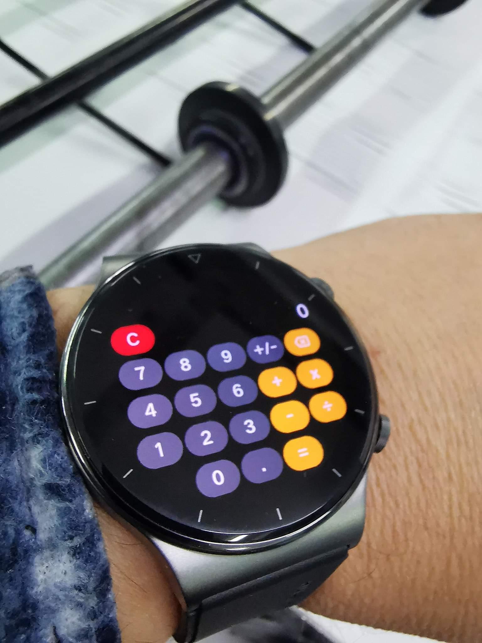 Huawei Watch GT 2 Pro calcolatrice