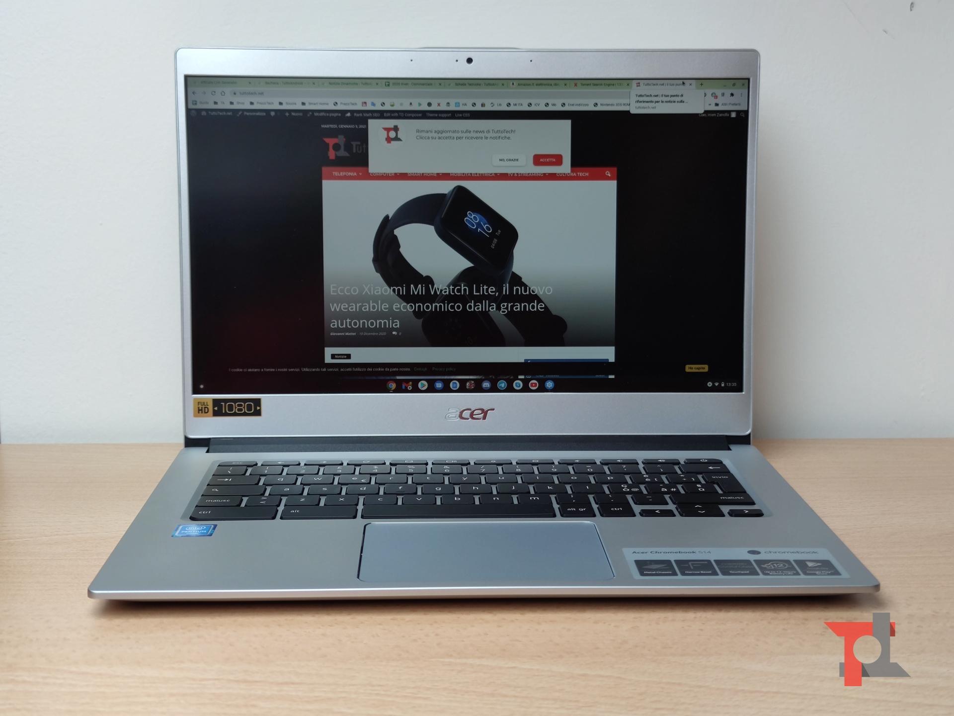 Recensione Acer Chromebook 514: può un Chromebook sostituire un classico notebook? 1
