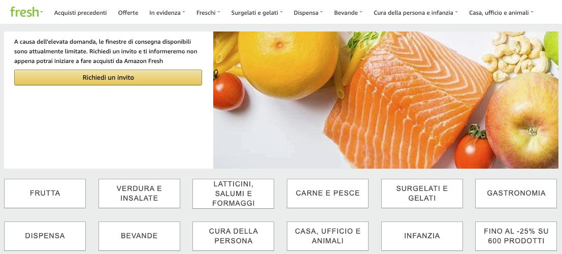 Amazon Fresh vi dà verdura, frutta e prodotti freschi in giornata a partire da Milano 1