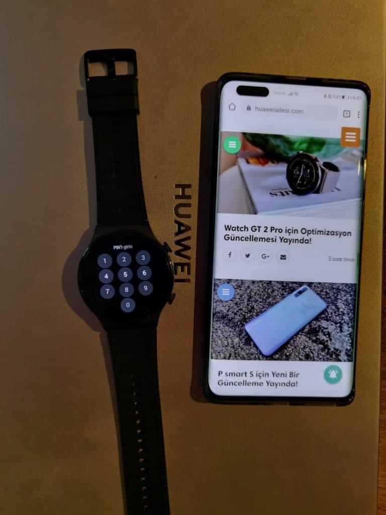 Huawei Watch Fit ottiene l'edizione di capodanno. Arriva Pin Lock per Watch GT 2 Pro 6