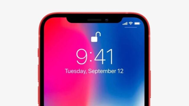 leak notch iphone 13