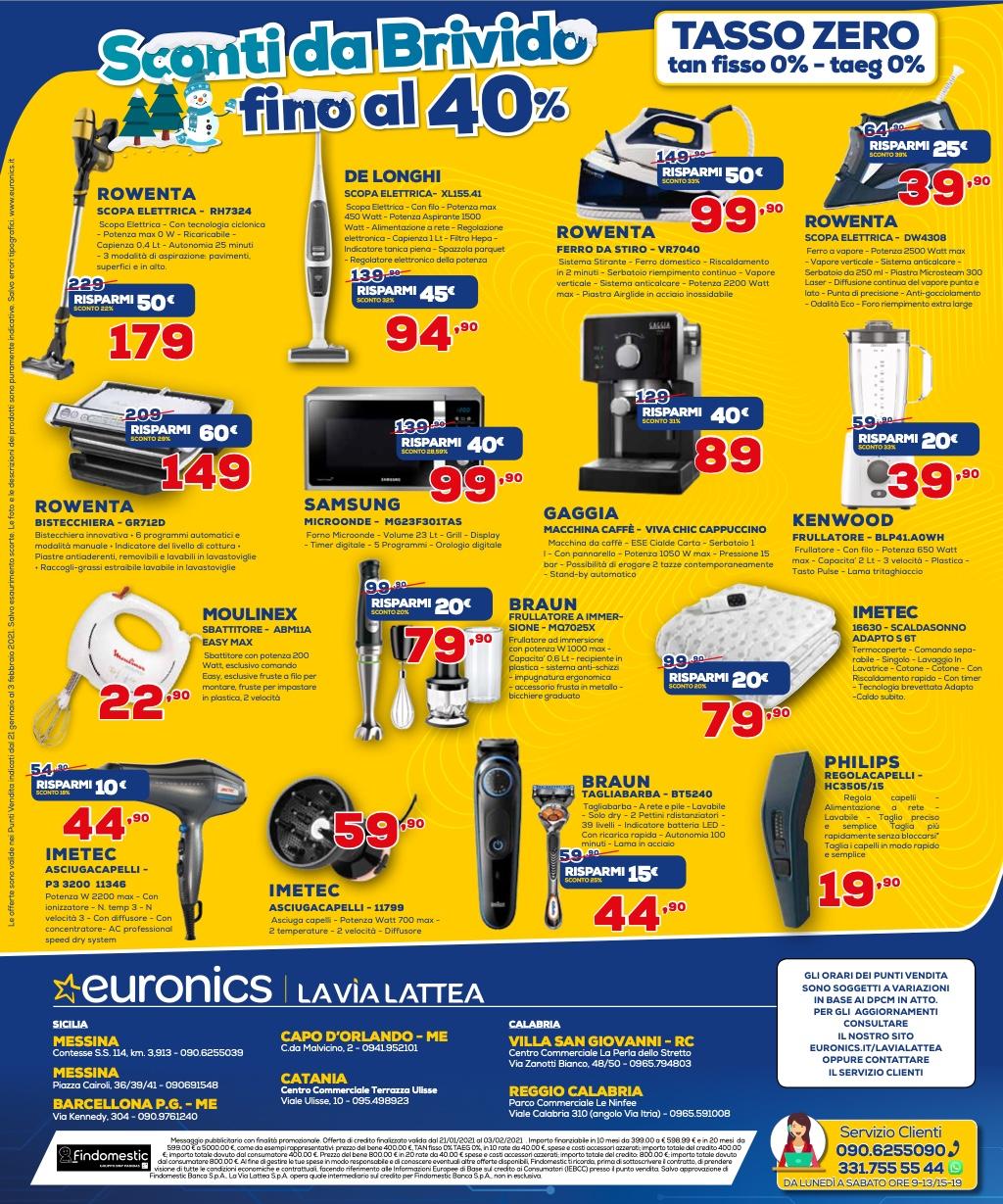 Ecco le migliori offerte tech dei volantini di Euronics (fino al 3 febbraio) 2