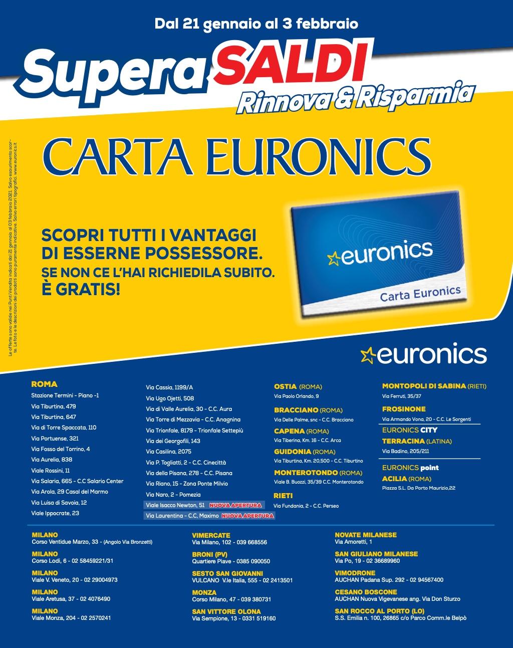 Ecco le migliori offerte tech dei volantini di Euronics (fino al 3 febbraio) 1