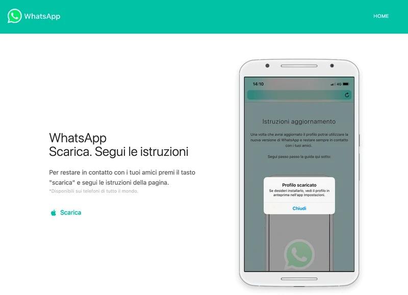C'è un'azienda italiana dietro alla falsa versione di WhatsApp che ruba i dati degli utenti 1
