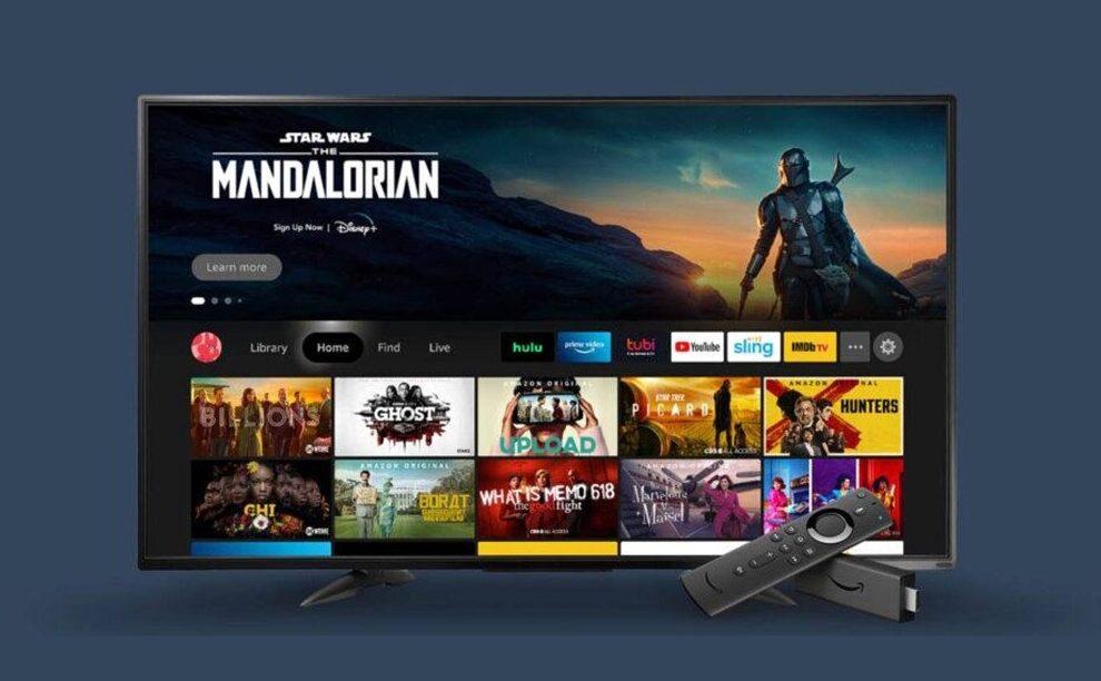Amazon Fire TV UI