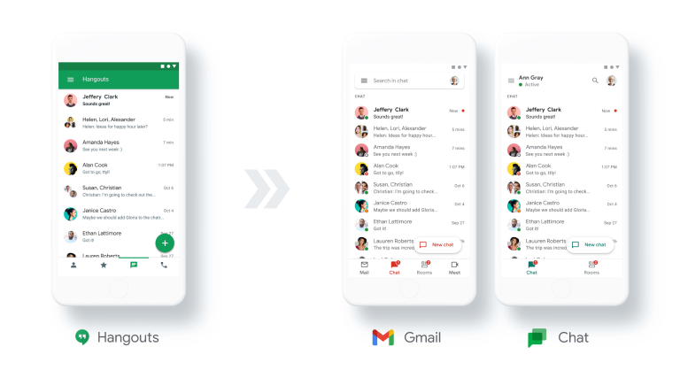 Ecco le ultime novità in test per Google Chat e la Ricerca Google 2