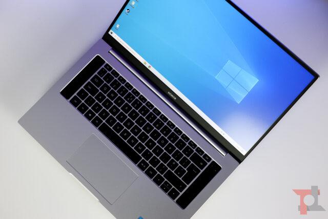 Honor MagicBook Intel utilizzo
