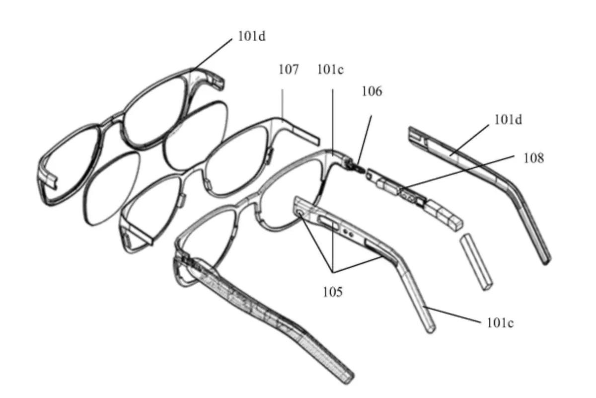 Xiaomi brevetta occhiali smart per curare ansia e depressione 1