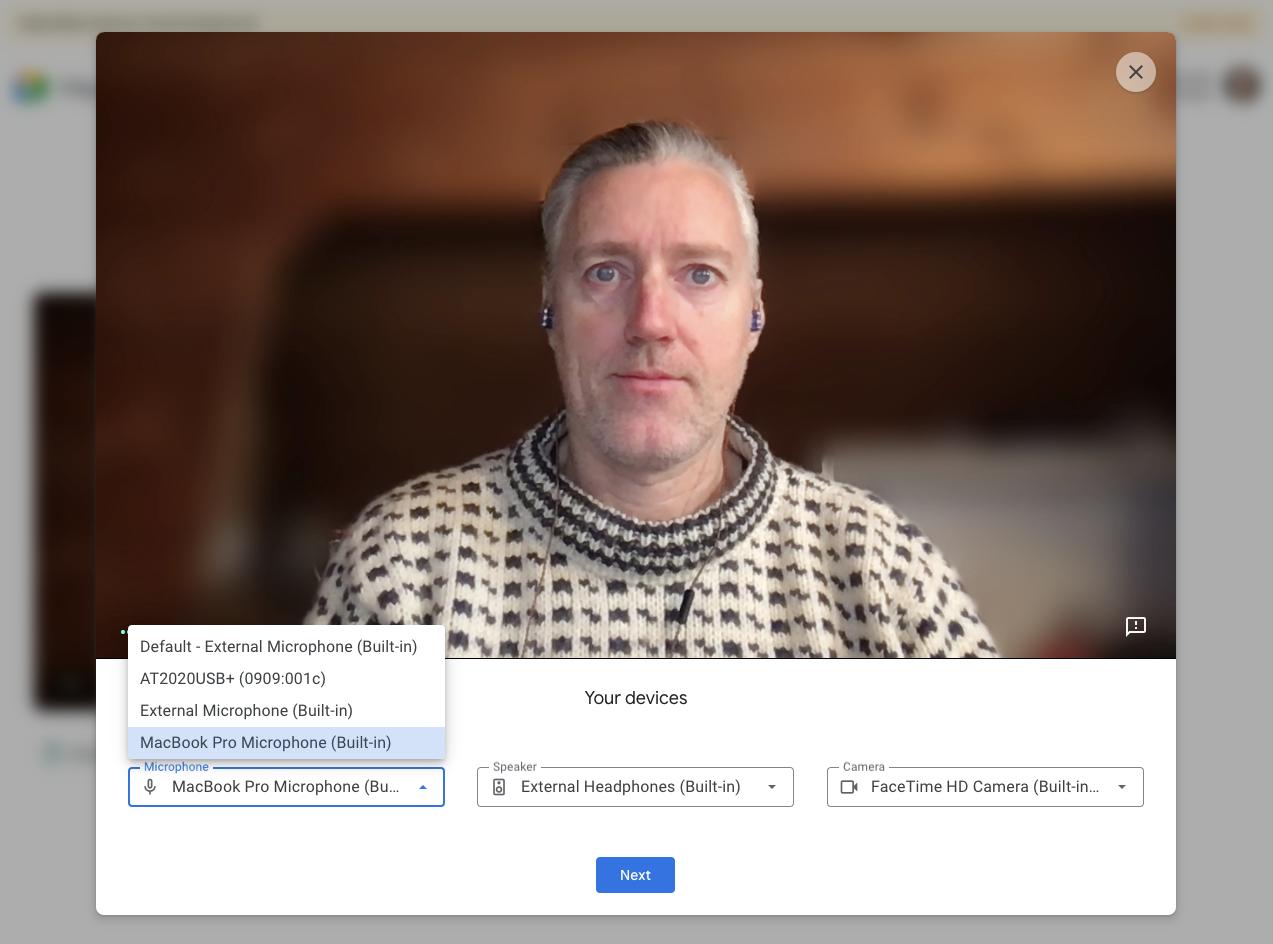 Google Meet aggiunge l'anteprima video sul Web 1