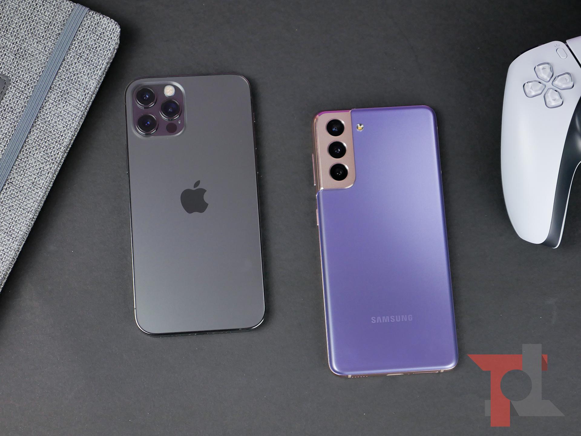 iPhone 12 Pro vs Samsung Galaxy S21: il confronto più atteso del 2021 6