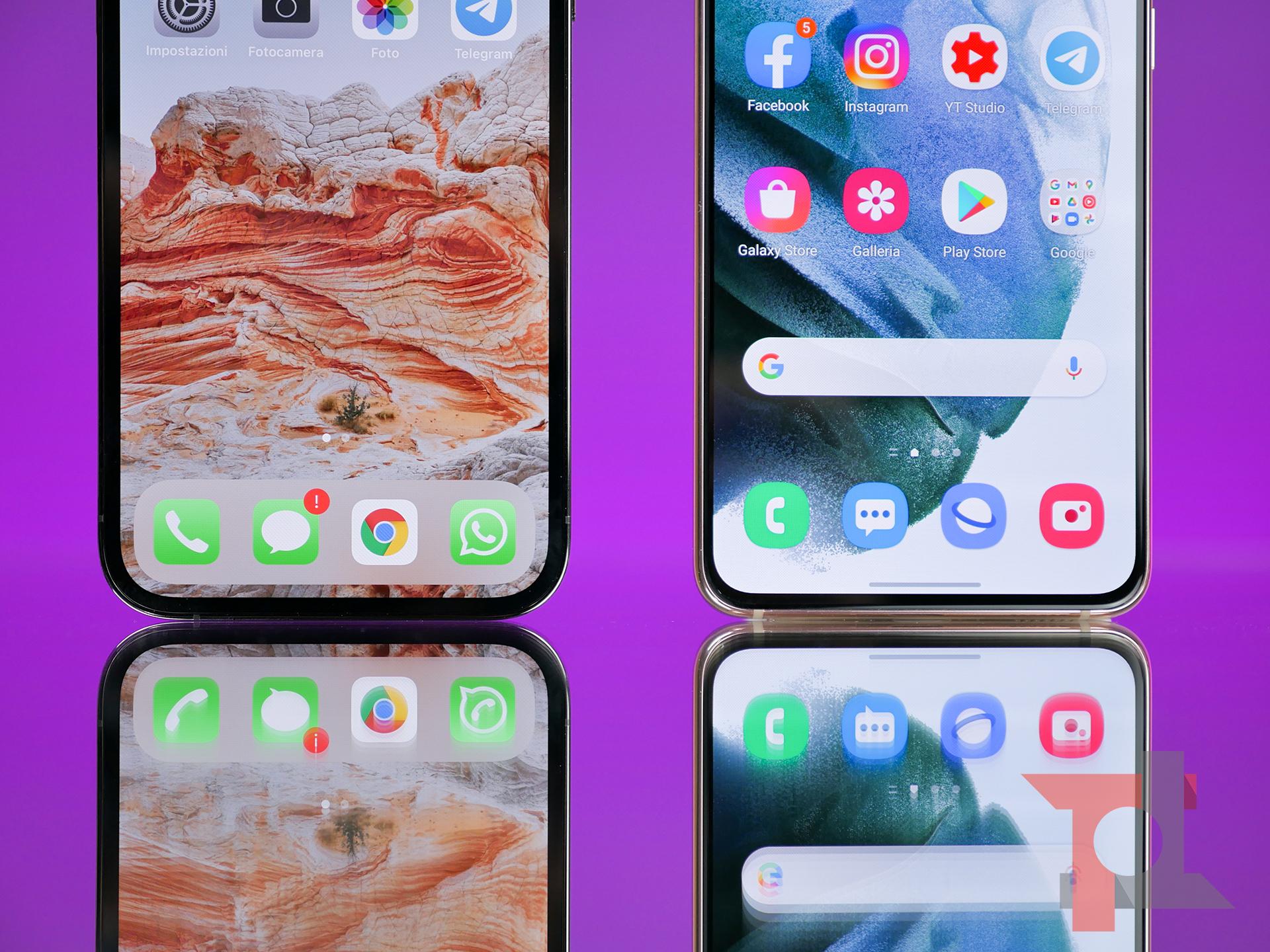 iPhone 12 Pro vs Samsung Galaxy S21: il confronto più atteso del 2021 4