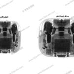Nuove immagini trapelate mostrano il design delle cuffie Apple AirPods 3 3