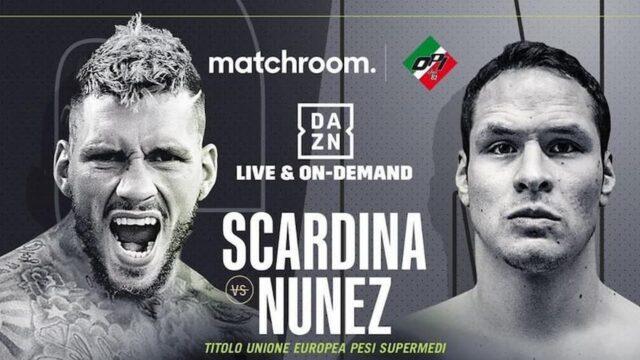 Milano Boxing Night, Scardina vs Nunez