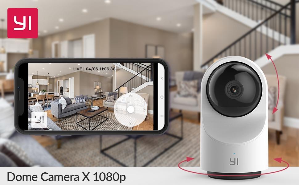 La telecamera di sicurezza Yi Dome X scontatissima su Amazon 1