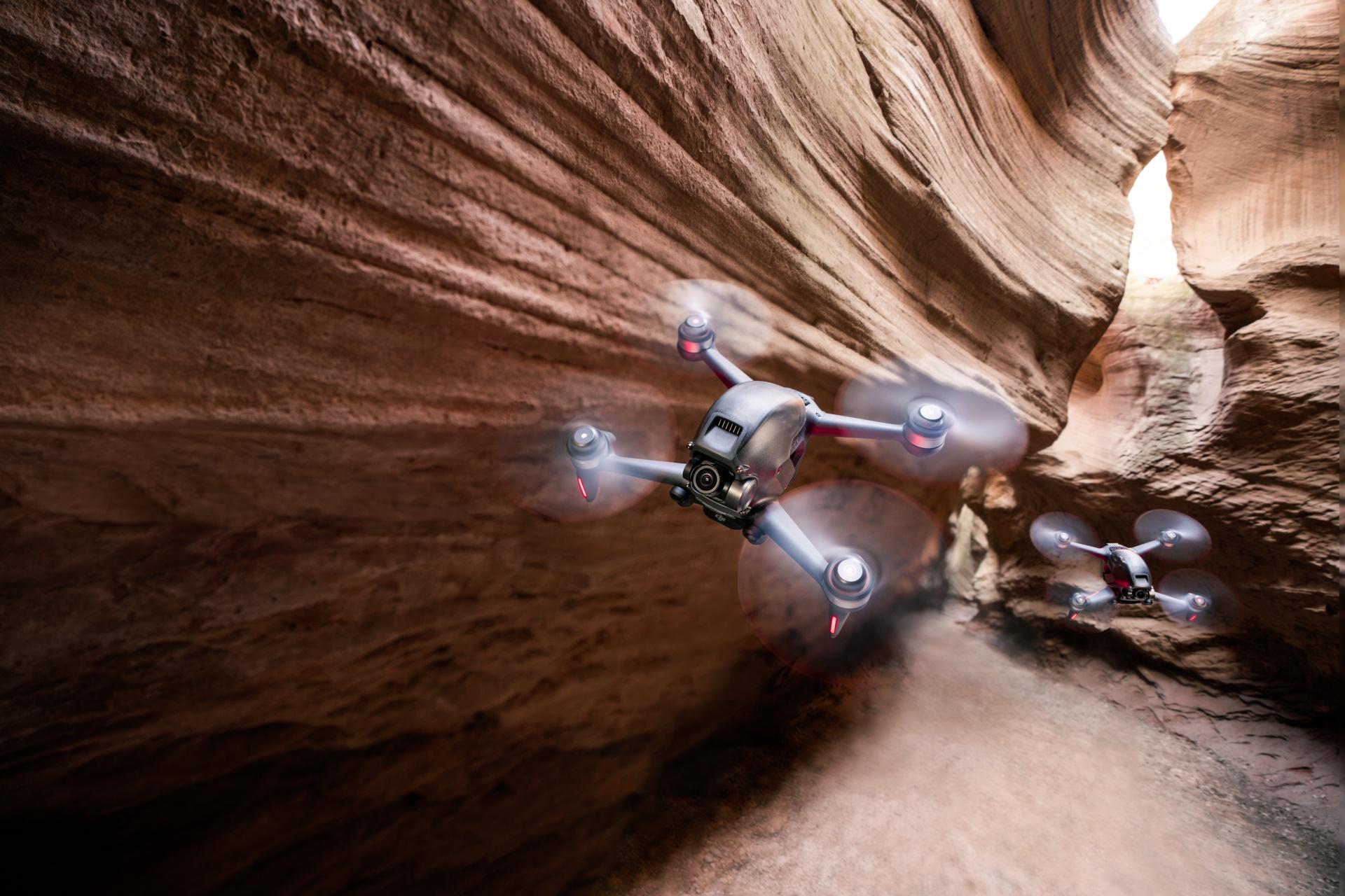 Con DJI FPV l'esperienza di volo dei droni si rinnova 3