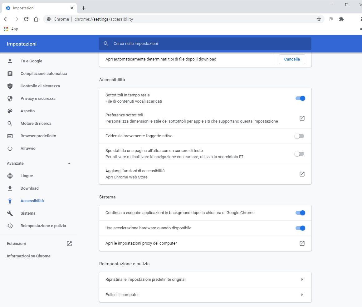 Live Caption è in rilascio su Google Chrome 89 stabile 1
