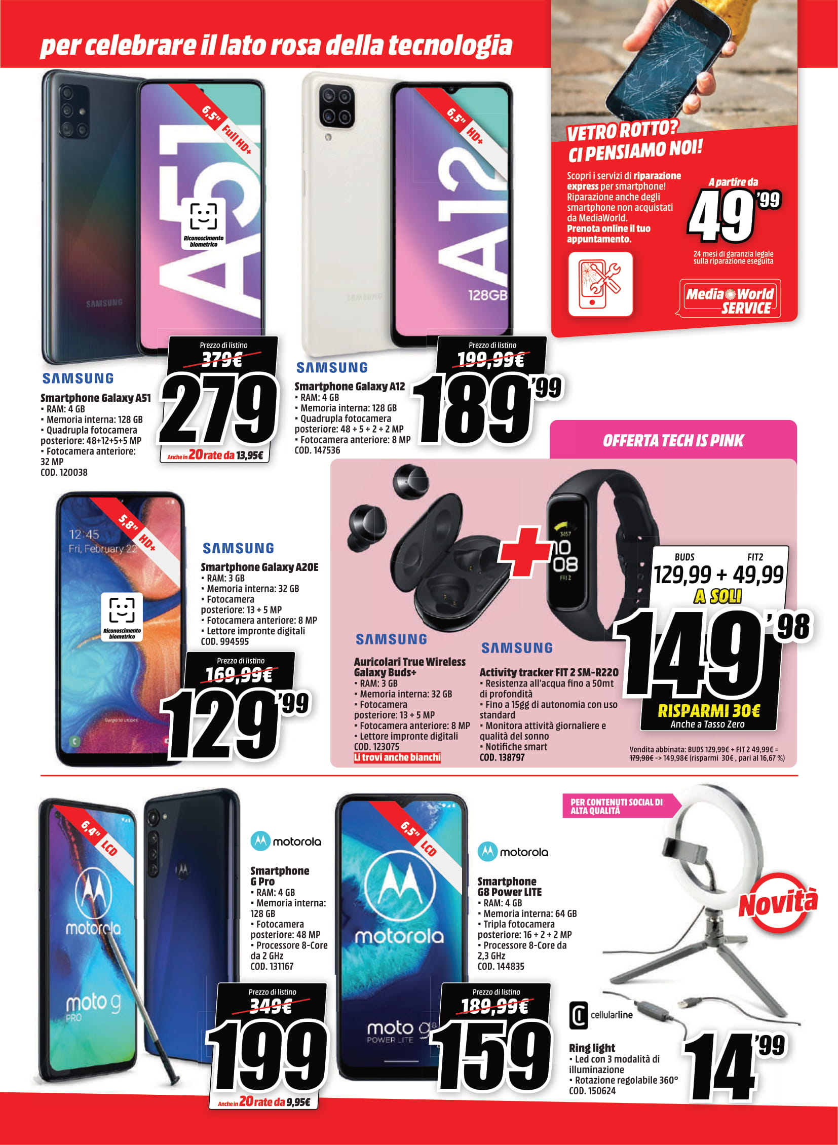 Offerte MediaWorld Tech Is Pink