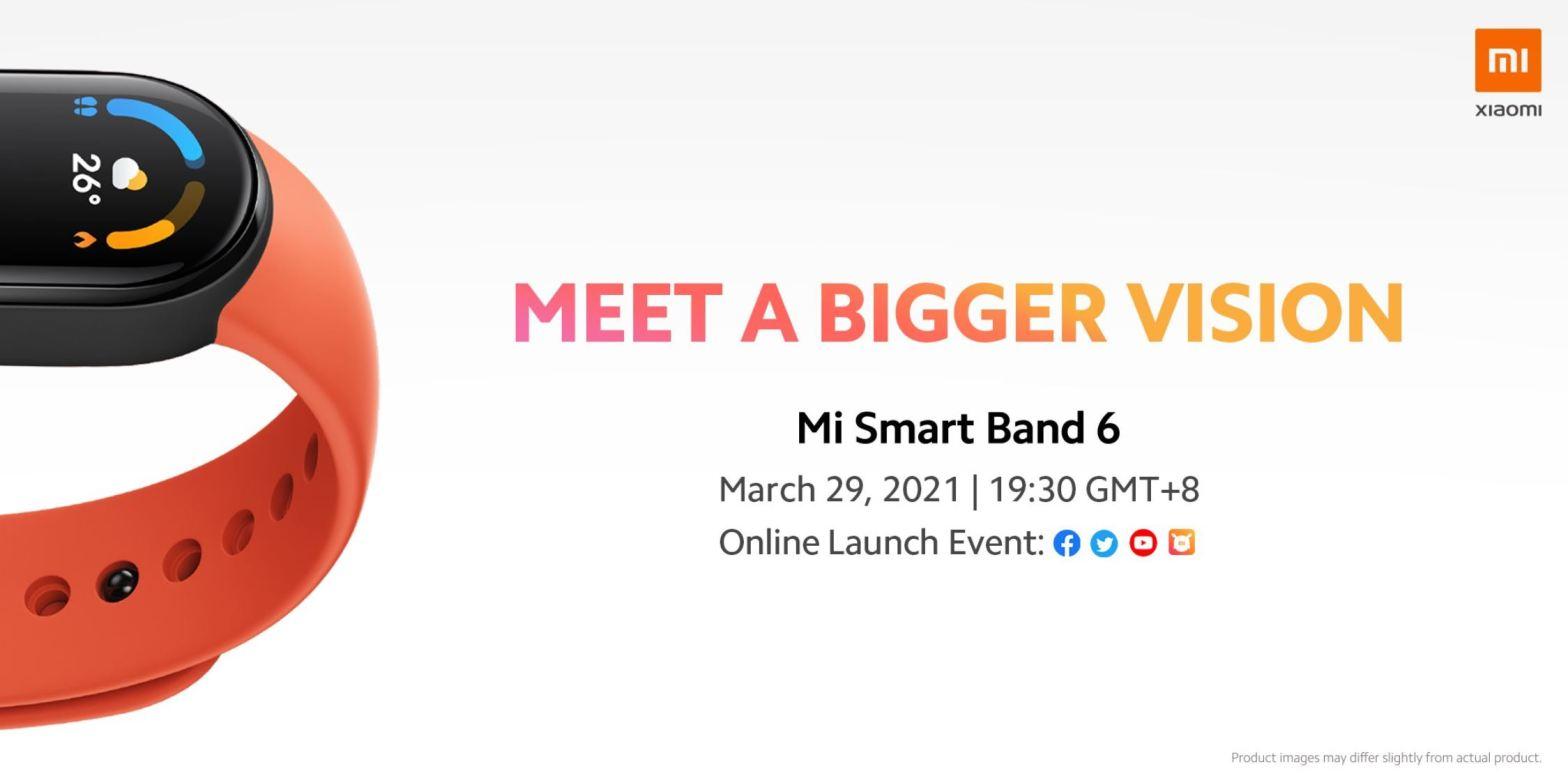 Xiaomi Mi Band 6 ora ha una data di lancio ufficiale e tante nuove funzioni 1
