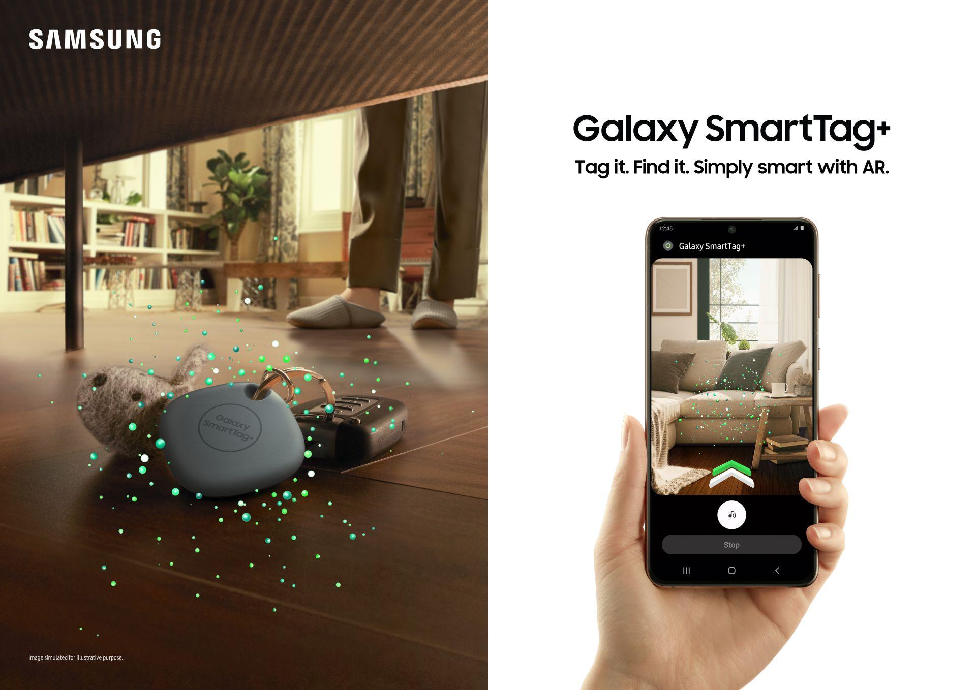 Samsung annuncia Galaxy SmartTag+, ancora più preciso grazie alla ultra-wideband 1