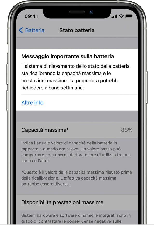 Apple sostituirà le batterie degli iPhone 11 che non supereranno la calibrazione 1