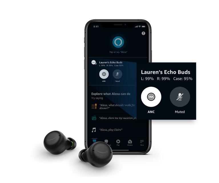 Amazon presenta le nuovissime cuffie true wireless Echo Buds 2