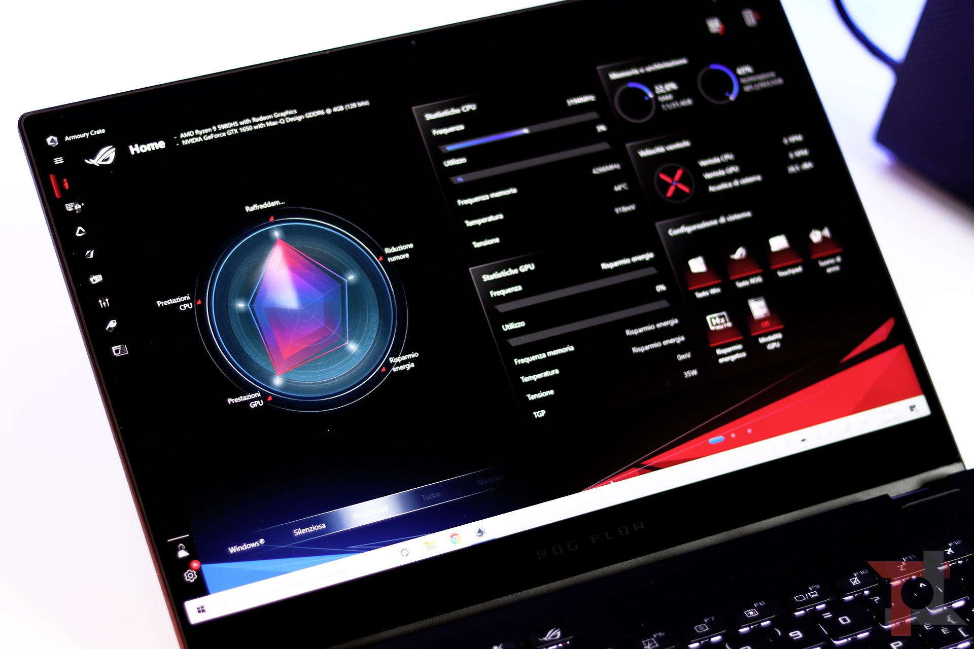 Recensione Asus ROG Flow X13: il convertibile che cambia le regole del gioco con una RTX 3080 esterna 13