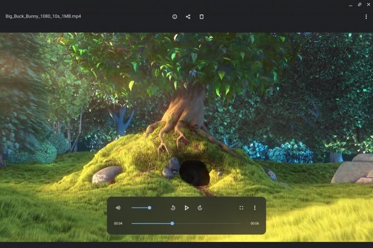 Google testa una riprogettazione del lettore video per i Chromebook 1