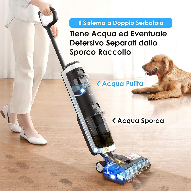 Pavimenti perfettamente puliti con Tineco FLOOR ONE S3, oggi in offerta su Amazon 2