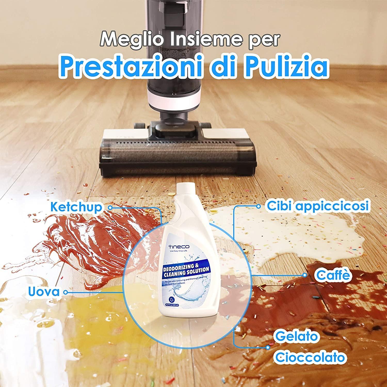 Pavimenti perfettamente puliti con Tineco FLOOR ONE S3, oggi in offerta su Amazon 3